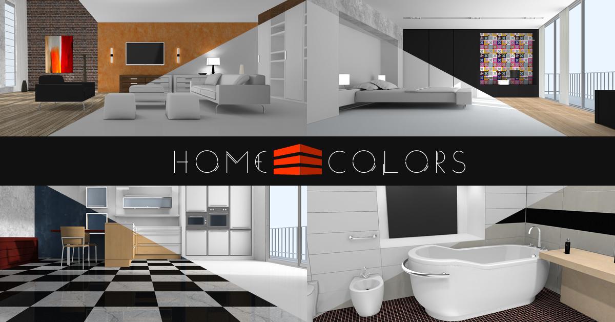 Home Colors - Interactive 3D Interior Design